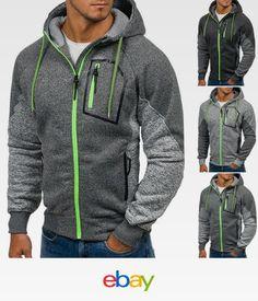 Men s Outwear Sweater Winter Hoodie Caballeros 8a3885c5f35a