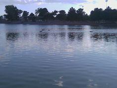 The Lake at Sunset Park in Las Vegas.