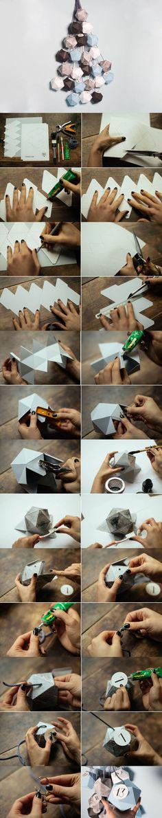 Image from -Make my Lemonade- http://www.orikami.net DIY Origami Paper Sculpture Design