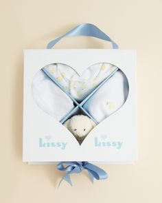 Kissy Kissy Infant Unisex Boxed Baby Shower Gift Set
