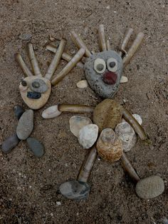 Rezultat iskanja slik za land art for kids Land Art, Art Et Nature, Nature Crafts, Forest School Activities, Art Activities, Beach Activities, Preschool Crafts, Crafts For Kids, Arts And Crafts