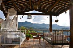 Una terraza para desconectar #rural #naturaleza #toprural #casas #relax #vacation #vacaciones #travel