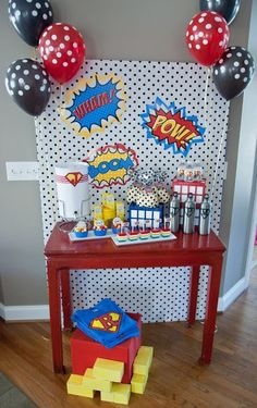 Blog My Little Party - Ideas e Inspiración para Fiestas: Fiestas temáticas: Superhéroes