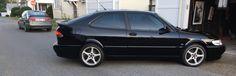 2001 Saab Viggen on of  129 black Viggens in 2001. Even less 2 doors.