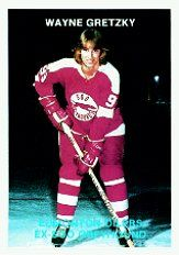Wayne Gretzky when he played for the Sault Ste. Marie Greyhounds in 77 - 78 and coach Muzz MacPherson suggested wearing two nines would be better than one. From that season on, Gretzky has always worn the legendary # 99.