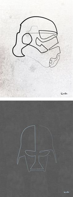One Line Drawings by Quibe