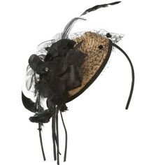 Straw Flower and Feather Cocktail Hat Headband - Natural Black OSFM Jeanne Simmons,http://www.amazon.com/dp/B00D7T7V8K/ref=cm_sw_r_pi_dp_4HJVsb1HR9628BZ7