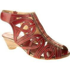 08b788e1a0c Women s Spring Step Flourish Red Leather