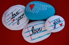 99 DIY Ideas Of Painted Rocks With Inspirational Picture And Words (38)
