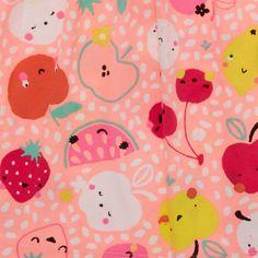 print & pattern blog - Sainsbury's SS16 fruit childrenswear print