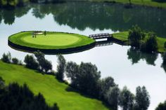 Golf place on Ptuj Heart Of Europe, Slovenia, Playground, Countryside, Golf Courses, Places To Go, Landscape, World, Nature