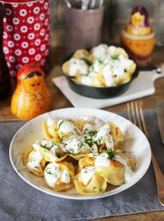 Hungarian Recipes, Russian Recipes, Hungarian Food, Meat Recipes, Recipies, Tortellini, Ravioli, Potato Salad, Food Porn