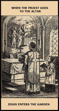 St. Alphonsus Liguori tells us that in order to sacrifice a victim, one must have power over its life; since God is the only one to have such power over his Divine Son who is the Victim in the unbloody Sacrifice of the Mass, it is a duly ordained priest invested with divine authority who approaches the altar of sacrifice. By praying in union with Jesus – principal priest – in the name of the Father, and of the Son, and of the Holy Ghost, he thus begins the Mass declaring that he…