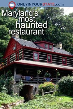 Read on to see why Union Hotel Restaurant is the most haunted restaurant in Maryland. Real Haunted Houses, Haunted Hotel, Most Haunted, Spooky Places, Haunted Places, Abandoned Places, East Coast Usa, East Coast Road Trip, Coast Restaurant
