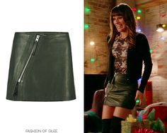 AllSaints Mini Lucille Split Leather Skirt - $330.00 Worn with: Zara coat, Rag & Bone tee, Marc by Marc Jacobs bag