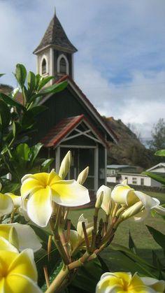 Church in Kahakuloa Village, Maui