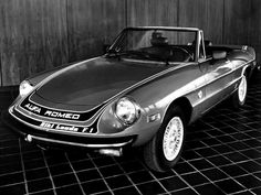 """Alfa Romeo 2000 Spider Veloce """"Niki Lauda F1"""" (1978)."""