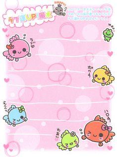 "Q-lia ""Kingyo Fusui"" Mini Memo (Sheet) (2) | by Crazy Sugarbunny"