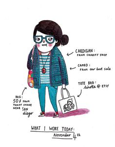 gemma correll // what i wore today