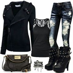 Rock Star look