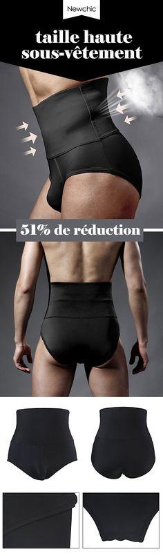 Shorts Gainants Effet Corps Sculpté Musculation Abdominale Taille Haute Sous -vêtement pour Homme 08fe85997ce