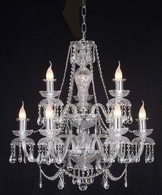 #crystal #chandelier #lighting