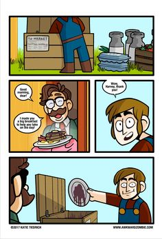 AWKWARD ZOMBIE - The Most Important Meal