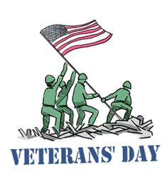Today is Veteran's Day. Thank you to all past and current soldiers for all they've done for this country.