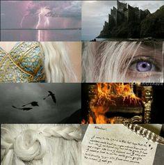 Daenerys Targaryen aesthetics by me