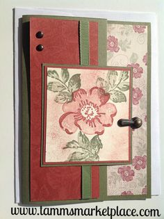 """""""Always"""" Handmade Greeting Card with Hinge MKC035 – Tamm's Marketplace"""