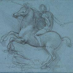 Study for an Equestrian Monument by Leonardo da Vinci