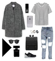 """Untitled #14"" by iaml88 on Polyvore featuring MANGO, New Balance, Illesteva, Just Acces, Narciso Rodriguez and JINsoon"