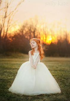 Ginger Princess and the dress is amazing