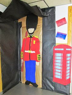 LONDRES ~ Los Peques del Rincón Class Displays, Classroom Displays, Classroom Themes, British Values, British Style, Preschool Door Decorations, English Day, London Decor, Teacher Doors