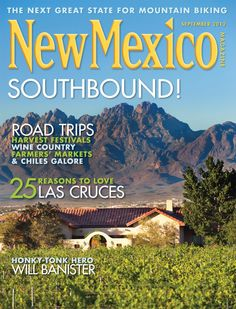 New Mexico Magazine Store - September 2012- SOUTHBOUND!, $4.95 (http://newmexico.mybigcommerce.com/september-2012-southbound/)