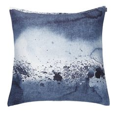 Luovi cushion by Marimekko.   http://www.skandium.com/shop/textiles-rugs/cushions-throws/luovi-cushion-dark-grey