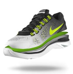 Custom Nike LunarGlide+ 4 iD Women's Running Shoe - My favorite running series...WANT IT
