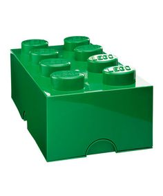 LEGO® Green 8 Storage Brick -now£21.99 original price £30.00 - Colours also come in - Red, Blue, Yellow, Black, White, Pink, Purple & Lime.