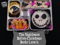 The Nightmare Before Christmas bento lunch