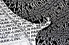 hodge:podge: {check this out: typography maps}