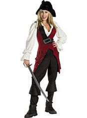 Adult Elizabeth Costume - Pirates of the Caribbean