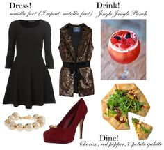 Sweetie Pie Style: Dress, Drink, Dine: Holiday Luxe!