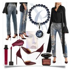 """""""Moonlight"""" by ledile ❤ liked on Polyvore featuring Dolce&Gabbana, Francesco Russo, Urban Decay, Jouer, charms, ledile and charmsbracelets"""
