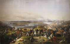 Peter von Hess, battle of Borodino with wounded Bagration . 1843