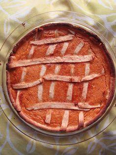 Tarte au potiron - pumpkin pie
