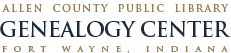 Allen County, Public Library ~ Genealogy Center ~ Fort Wayne, Indiana = Great Place to research Ancestors!