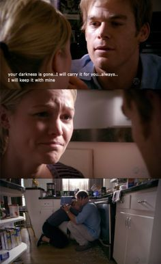 Dexter and Lumen <3  Probably my fave line from the show so far.
