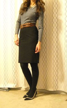Lilly's Style: Simplicity Winter Business attire