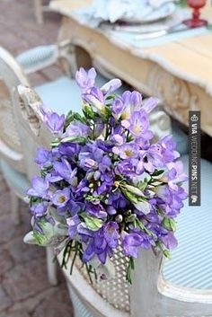 So neat! - Provence | CHECK OUT MORE GREAT PURPLE WEDDING IDEAS AT WEDDINGPINS.NET | #weddings #wedding #purplewedding #purpleweddingphotos #events #forweddings #iloveweddings #purple #romance #vintage #planners #ilovepurple #ceremonyphotos #weddingphotos #weddingpictures