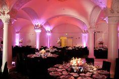 Pink lighting